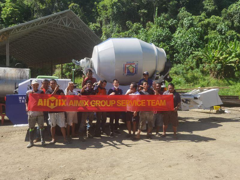 Tim layanan AIMIX di Indonesia