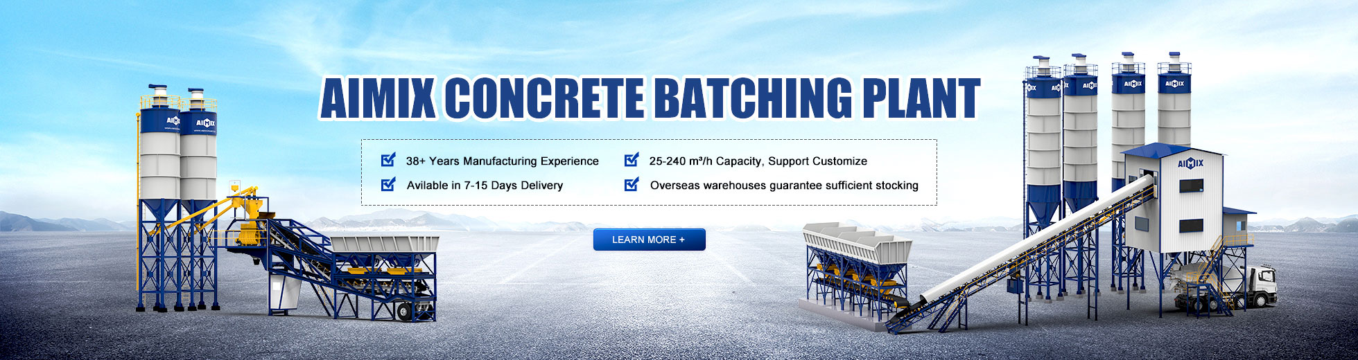 Batching Plant Ready Mix dijual