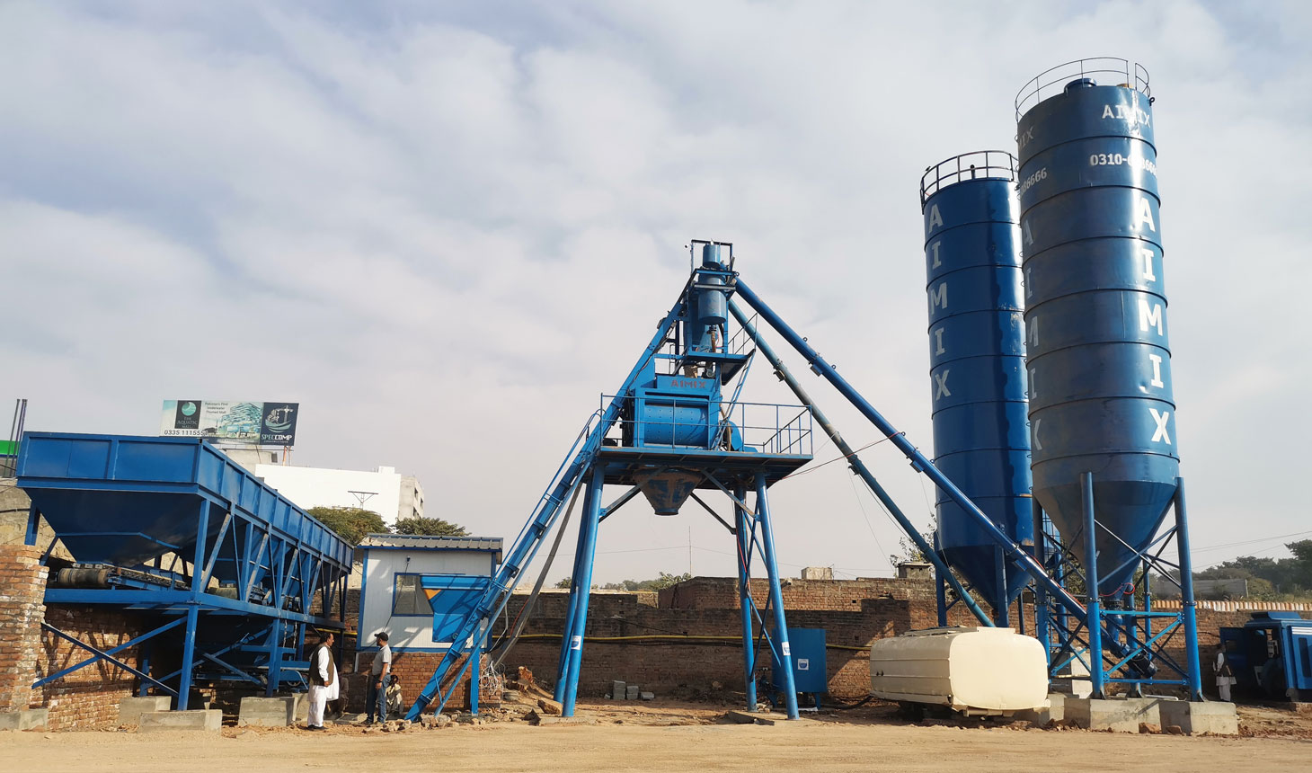 Batching Plant Ready mix Di Indonesia
