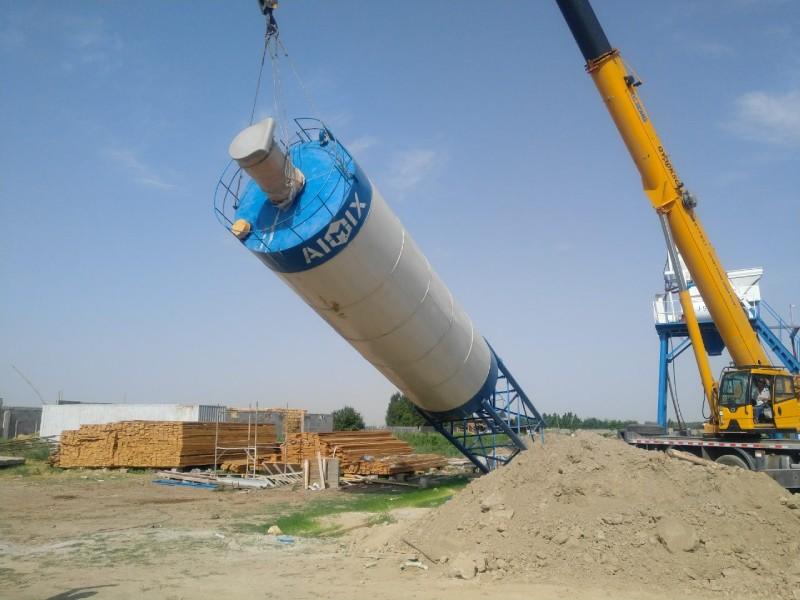 instalasi pabrik batching