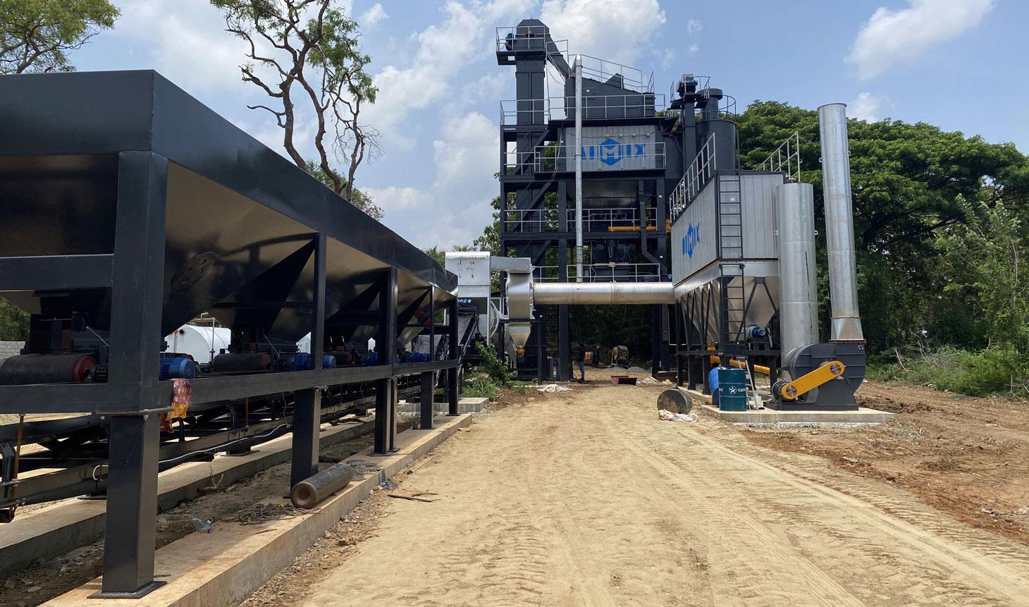ALQ100 aspal mixing plant