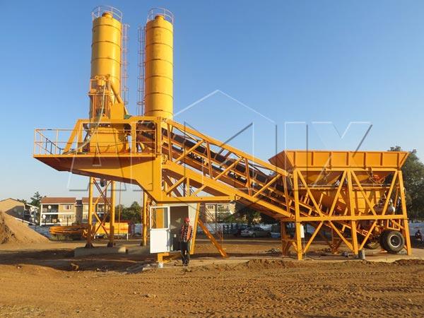 Aimix AJY35 konkrit tanduran ing Afrika Kidul