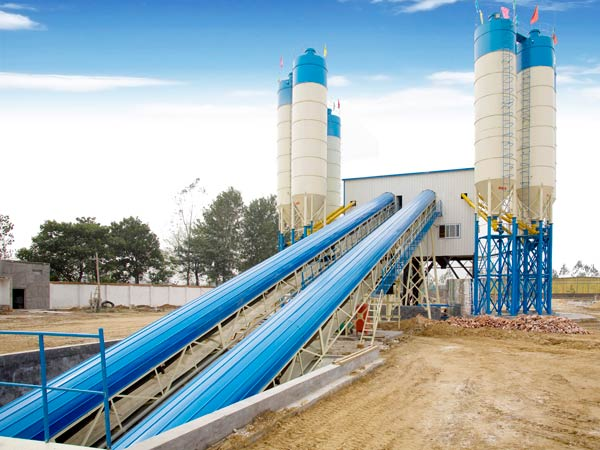 AJ-120 batching plant ready mix for sale