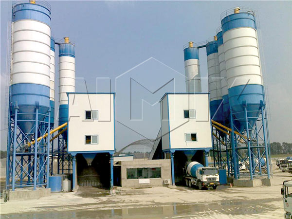 AJ-180 batching plant ready mix for sale