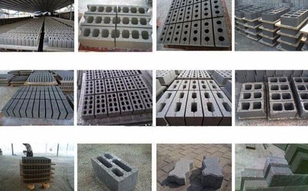 konkrit pemblokiran produk