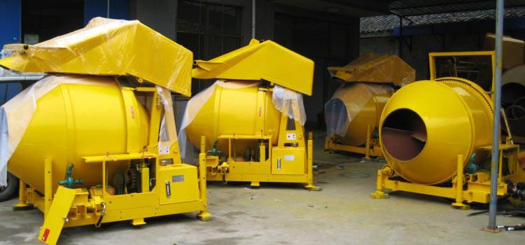AIMIX Diesel konkrit mixers