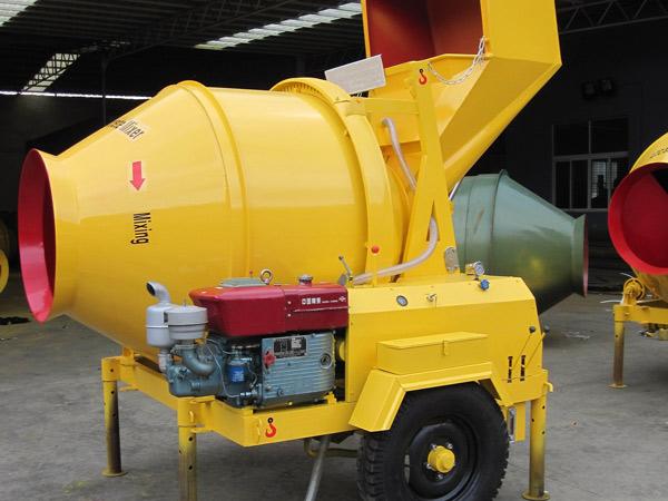 JZR350B diesel konkrit mixer