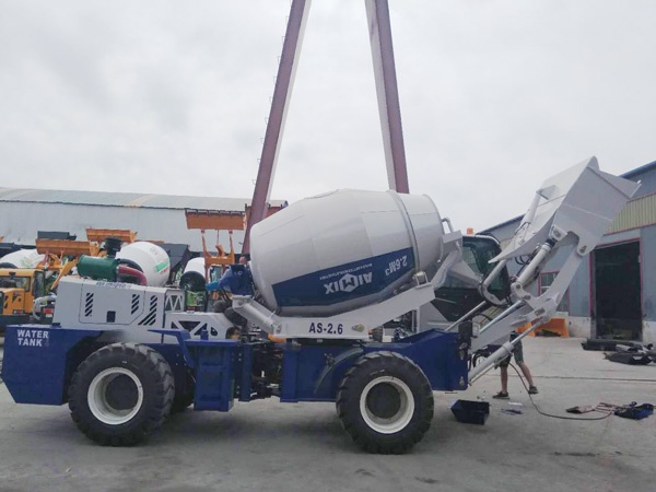 AIMIX self loading mixer kanggo Kazakhstan