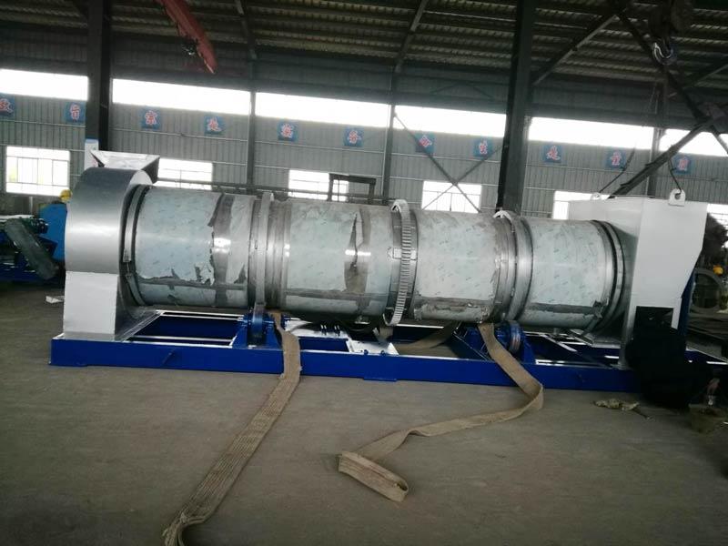 20 ton drum aspal mix plant tanduran dikirim menyang Ukraina
