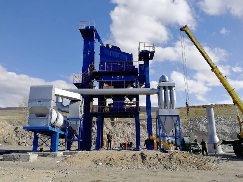 ALQ60 aspal tanduran rampung instalasi ing Kyrgyzatan