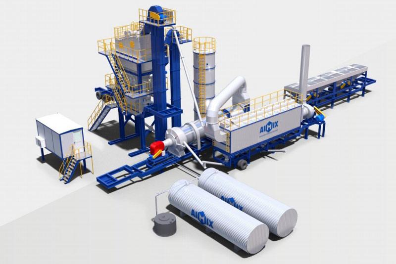 ALYQ seluler aspal Mixing Plant