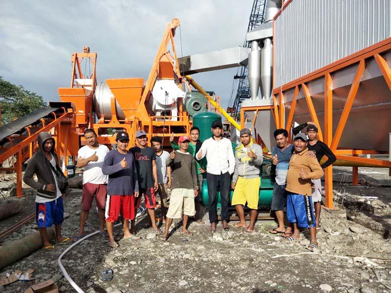 AIMIX 60 aspal nyawiji tanduran ing Filipina