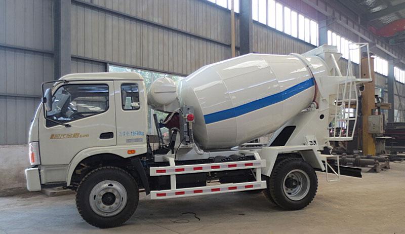 konkrit mixer truk karo sasis