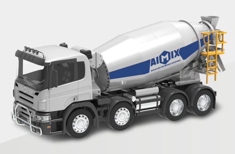 konkrit mixer truk