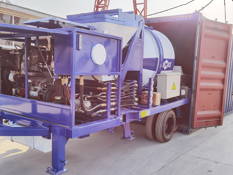 40 concrete mixer pump dimuat
