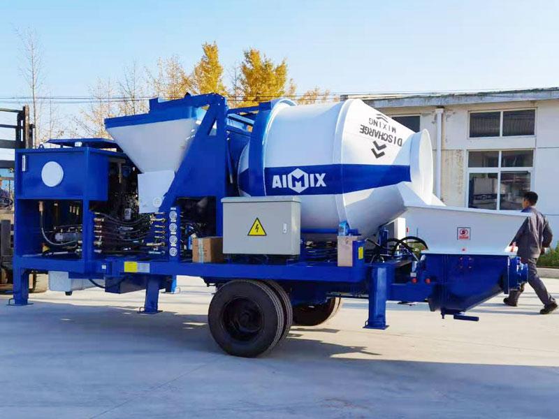 ABJZ40C Diesel mixer pump dikirim menyang Filipina