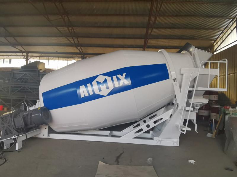 AIMIX 8m3 Konkrit Drum Mixer