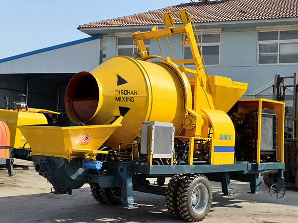 JB40R diesel concrete mixer pump