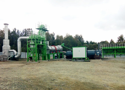 ALT60 asphalt drum mix plant