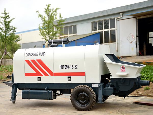 HBTS50 diesel concrete pump for sale in indonesia