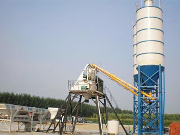 HZS25 concrete plant