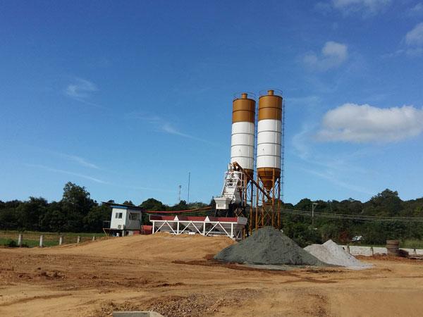 AJ35 mini concrete plant