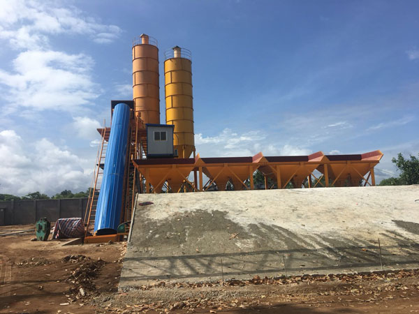 AJ-60 concrete plant 1