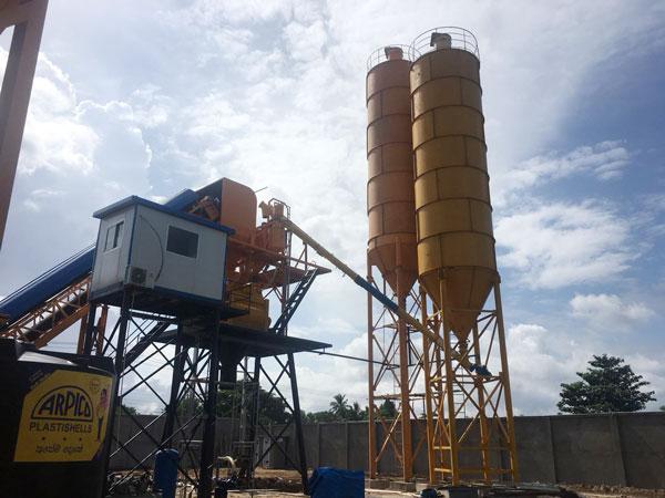 AJ-60 concrete plant 2