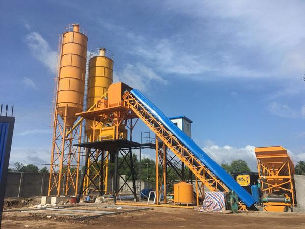 HZS60 concrete plant 3