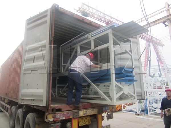 AJ-60 concrete-plant-exported