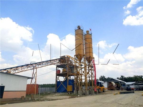 AJ-90 concrete plant in Indonesia