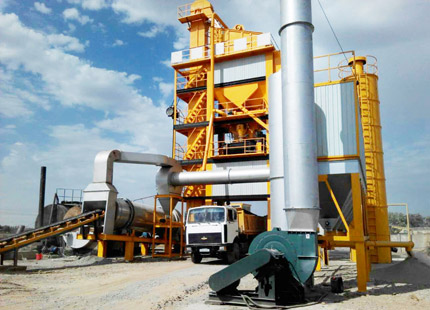 ALQ120 asphalt mixing plant for sale