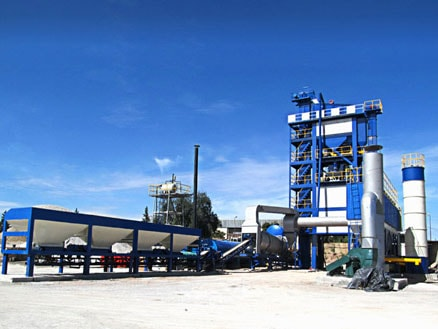 ALQ80 asphalt mixing plant for sale