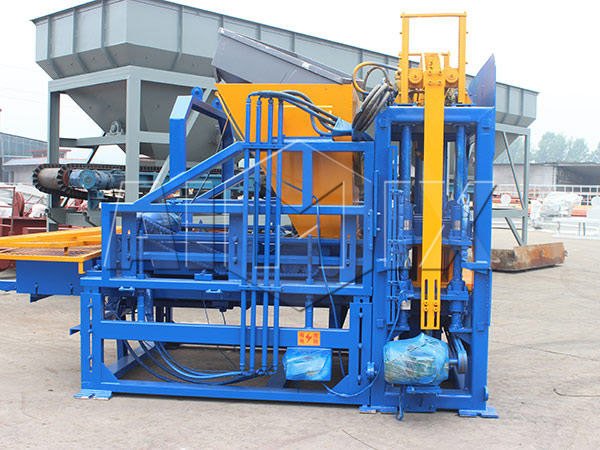 ABM-10S concrete brick machine