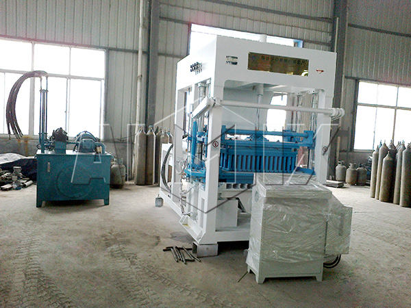 ABM-12S concrete block maker