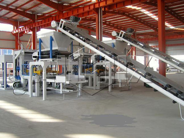 ABM-4SE concrete block machine