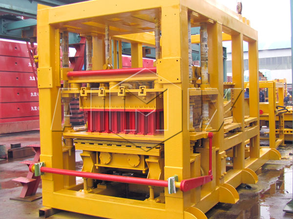 ABM-8S concrete block making machine