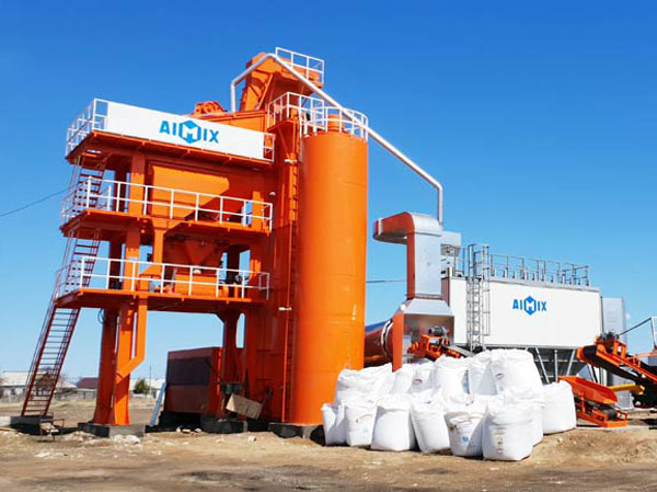batch mix bitumen mixing plant