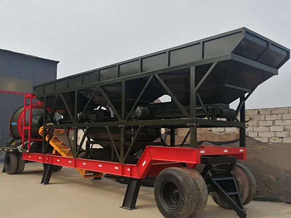 mobile concrete plant for sale