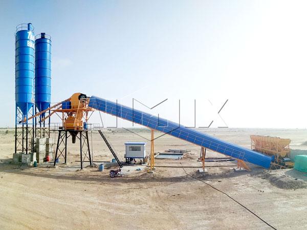 AJ-60 ready mix concrete plant for sale