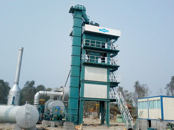 ALQ120 hot mix asphalt plant for sale
