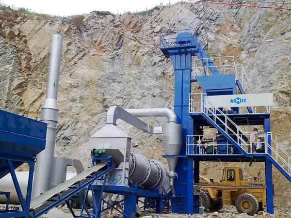ALT40 mobile asphalt plant