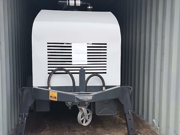 Aimix ABT40C Diesel Concrete Pump to Bolivia 1