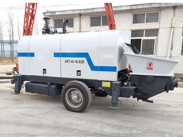 Aimix ABT40C Trailer Concrete Pump to Bolivia 2
