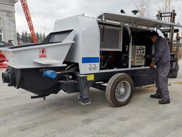 Aimix ABT40C Trailer Concrete Pump to Bolivia 3