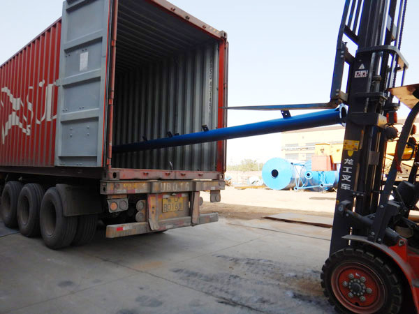 Aimix bolted cement silo sent to Bolivia 5