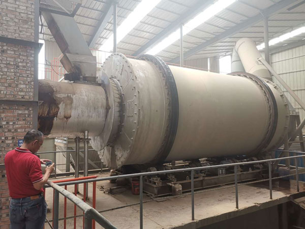 Aimix sand dryer to Indonesia 1