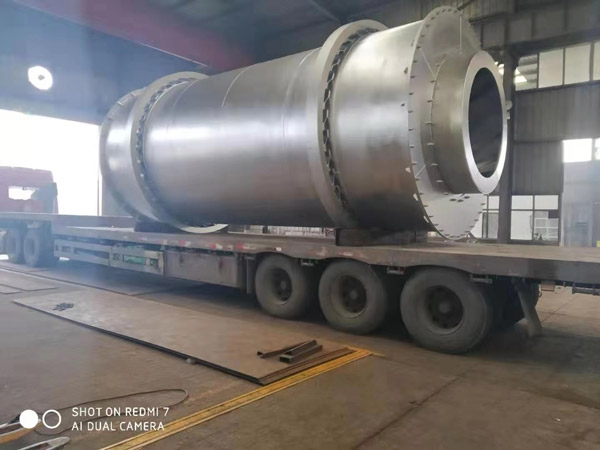 Aimix sand dryer to Indonesia 3