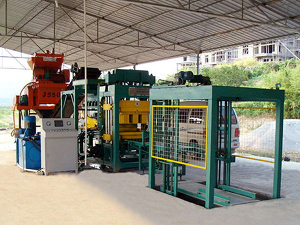 ABM-6S cement hollow block making machine