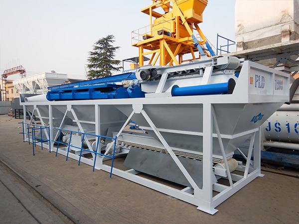 AIMIX concrete plant loading site 1